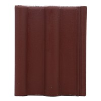 Tigla de beton 1/1 Bramac Alpina clasic P5, brun roscat