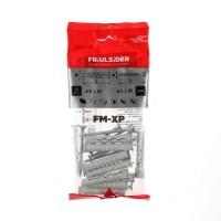 Diblu universal din nylon, cu surub, Friulsider XP, 8 x 52 mm, set 10 bucati