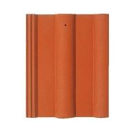 Tigla de beton 1/1 Bramac Alpina clasic P5, rosu caramiziu