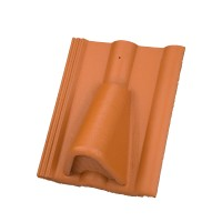 Tigla aerisire Alpina Clasic rosu caramiziu suprafata Protector, 330 x 420 mm