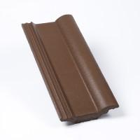 Tigla 1/2 Alpina Clasic, maro, suprafata Protector, 180 x 420 mm