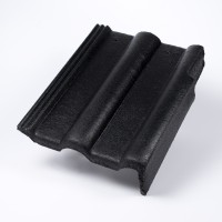 Tigla laterala dreapta Bramac Alpina Clasic, antracit, suprafata Protector, 330 x 420 mm
