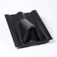 Tigla aerisire Alpina Clasic antracit suprafata Protector, 330 x 420 mm
