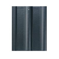 Tigla de beton 1/1 Bramac Alpina clasic P5, antracit briliant