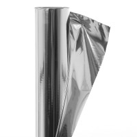 Folie bariera de vapori, aluminiu, Masterplast Isoflex Alu-PZ, 1 strat, 1.2 x 50 m, 60 mp