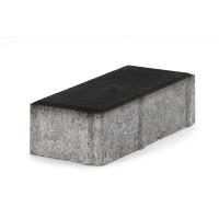 Pavaj rezidential Semmelrock, Nardo, dreptunghi, negru, 200 x 100 x 40 mm
