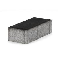 Pavaj rezidential Semmelrock, Rettango, dreptunghi, negru, 200 x 100 x 60 mm