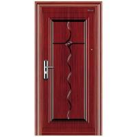 Usa interior metalica BestImp B24Q, stanga/dreapta, mahon, 202 x 88 cm