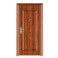 Usa interior metalica BestImp B24QA , stanga/dreapta, stejar deschis, 202 x 88 cm
