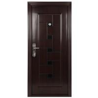 Usa interior metalica BestImp B51Q, stanga/dreapta, mahon, 202 x 88 cm