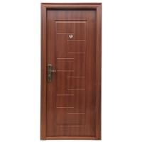 Usa interior metalica BestImp B51QA, stanga/dreapta, stejar inchis, 202 x 88 cm