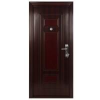 Usa interior metalica BestImp B55Q(L), stanga/dreapta, mahon, 202 x 88 cm