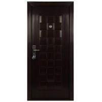 Usa interior metalica BestImp B56Q, stanga/dreapta, mahon, 202 x 88 cm