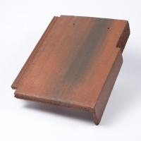 Tigla laterala dreapta Bramac Tectura, antic, suprafata Protector, 330 x 420 mm