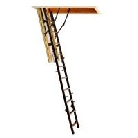 Scara mansarda, Profil Metal Setp, metal + lemn, retractabila, 60 x 110 x 280 cm