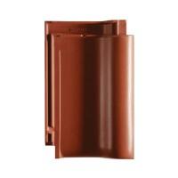 Tigla ceramica 1/1 Creaton Balance, rosu cupru angoba, 32 x 50 cm
