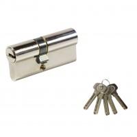 Cilindru siguranta Urbis CR A 01 CAN, nichelat, 5 chei amprentate, 30 x 40 mm