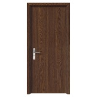 Usa de interior din lemn, SuperDoor F10-78-S, stanga / dreapta, stejar inchis, 203 x 78 cm