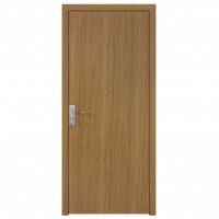 Usa de interior din lemn, SuperDoor F10-88-Q, stanga / dreapta, stejar deschis, 203 x 88 cm
