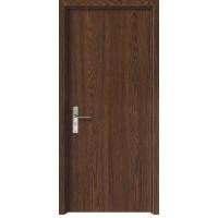Usa de interior din lemn, SuperDoor F10-88-S, stanga / dreapta, stejar inchis, 203 x 88 cm