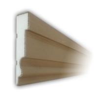 Ancadrament ferestre decorativ polistiren EPS acoperit cu rasina NA105, 2000 x 175 x 40 mm