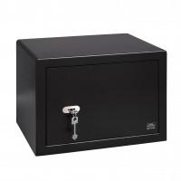 Seif mobila Burg Wachter Pointsafe P 3 S, cu cheie, otel, negru, 442 x 350 x 320 mm