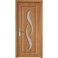 Usa de interior din lemn cu geam Super Door F07-88-Q stanga / dreapta stejar deschis 203 x 88 cm