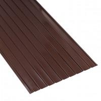 Tabla zincata cutata vopsita, maro (RAL 8017), H 12 0.3 x 870 x 2000 mm