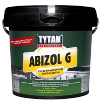 Chit pasta hidroizolatie, bitum-cauciuc, Abizol G Tytan Professional, 1 kg