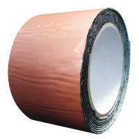 Banda bituminoasa pentru etansare/hidroizolatii Tytan, caramiziu, 10 m x 100 mm