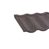 Tigla metalica cu roca Lindab Roca Rustica cappucino