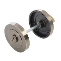 Rozeta rotunda filetata pentru usa lemn ESC01 Gato WC RR55 AB, antic bronz, D = 55 mm