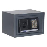 Seif mobila Rottner Atlantis Mini T03336, electronic + cheie, din metal, antracit, 310 x 250 x 200 mm