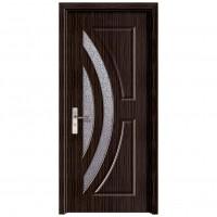 Usa de interior din lemn cu geam Super Door F11-78-T stanga / dreapta wenge 203 x 78 cm