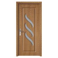 Usa de interior din lemn cu geam Super Door F12-68-Q stanga / dreapta stejar deschis 203 x 68 cm