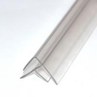 Profil de colt H, clar, 4-6 x 6000 mm