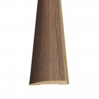 Pervaz pentru usa interior, rotunjit, gri, 12 x 65 mm, set 3 bucati