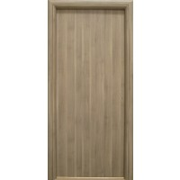 Usa interior celulara, Eco Euro Doors R80, stanga, gri, 202 x 76 x 4 cm cu toc
