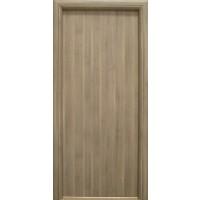 Usa interior celulara, Eco Euro Doors R80, stanga, gri, 202 x 86 x 4 cm cu toc