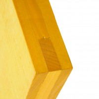 Placa interior / exterior, cofraj, galbena, 2500 x 500 x 27 mm