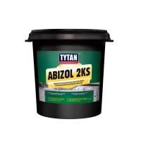 Pasta pentru hidroizolatie, bitum-fibre, polistiren, bicomponenta, Abizol 2KS Tytan Professional, 15 L