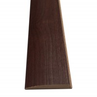 Pervaz pentru usa, nuc, 12 x 60 mm