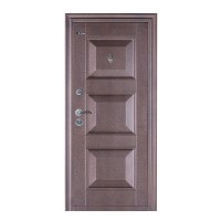 Usa interior metalica BestImp B75G, stanga/dreapta, maro, 202 x 88 cm
