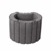 Jardiniera Semmelrock, beton, gri, 30 x 20 cm