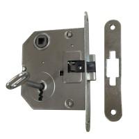 Broasca mica pentru usa interior, Eco Euro Doors, 20 x 140 x 82.5 in mm + placuta toc + 1 cheie simpla