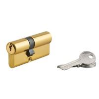 Cilindru siguranta profil european Serruprix, auriu, 3 chei frezate, 30 x 40 mm