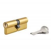 Cilindru siguranta profil european Serruprix, auriu, 3 chei frezate, 40 x 40 mm