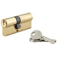 Cilindru siguranta profil european seria SA Thirard, auriu, 3 chei frezate, 30 x 40 mm