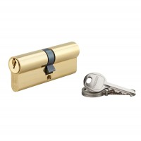 Cilindru siguranta profil european seria SA Thirard, auriu, 3 chei frezate, 40 x 40 mm