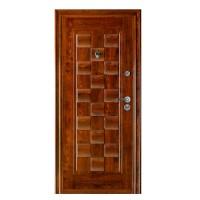 Usa interior metalica BestImp B61U, stanga/dreapta, stejar inchis, 202 x 88 cm